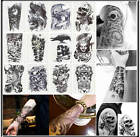 60 Styles 3D  Body Art Temporary Tattoo EXTRA LARGE Sheet