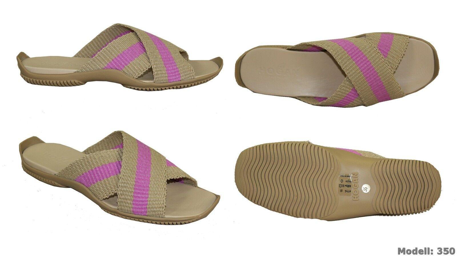Hogan Pantoletten Pantoffeln Schuhes Neu Sandales Damen Schuhe Ausverkauf Neu Schuhes f928ab