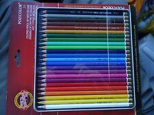 Koh-I-Noor Polycolor 24-colored Pencil Set