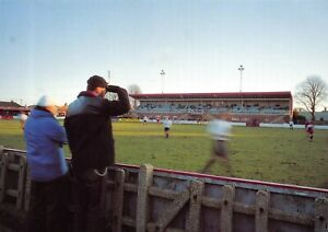 Non-League-Football-Ground-Postcard-Worthing-FC-Woodside-Road-West-Sussex