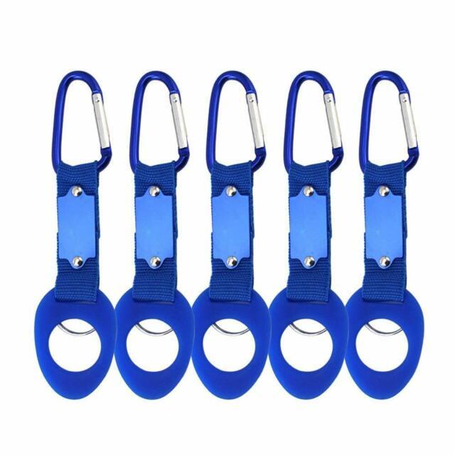 Lot 12 Carabiner Belt Clip Key Chain Water Bottle Hook Clamp Holder// US Shipping