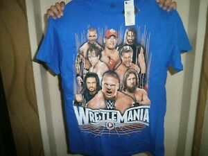 CLOSEOUT-SALE-Imported-From-USA-8-99-Wrestlemania-Boy-039-s-Shirt-Large-10-12