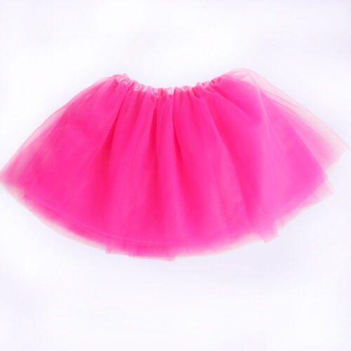 Tutu Skirt Princess Dressup Children Kid Girls Dancewear Ballet Dancewears