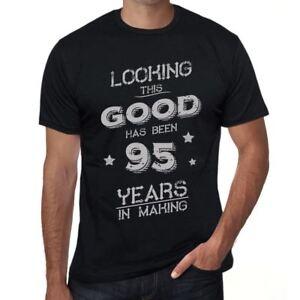 Looking-This-Good-Has-Been-95-Years-is-in-Making-Herren-T-shirt-Schwarz-00439