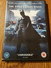 BATMAN THE DARK KNIGHT RISES DVD  BATMAN VS BANE BALE HARDY