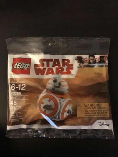 40288 Factory Sealed Exclusive LEGO Star Wars BB-8 Polybag New