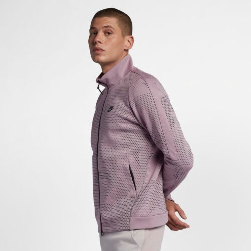 694 Nike Jacket Fleece New 886172 Purple Sudadera Men Hombre Tech Sportswear qvq7rgxH