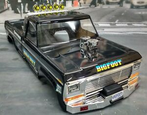 Custom-Painted-Body-BIGFOOT-Classic-For-1-10-RC-Monster-Truck-Traxxas-Stampede