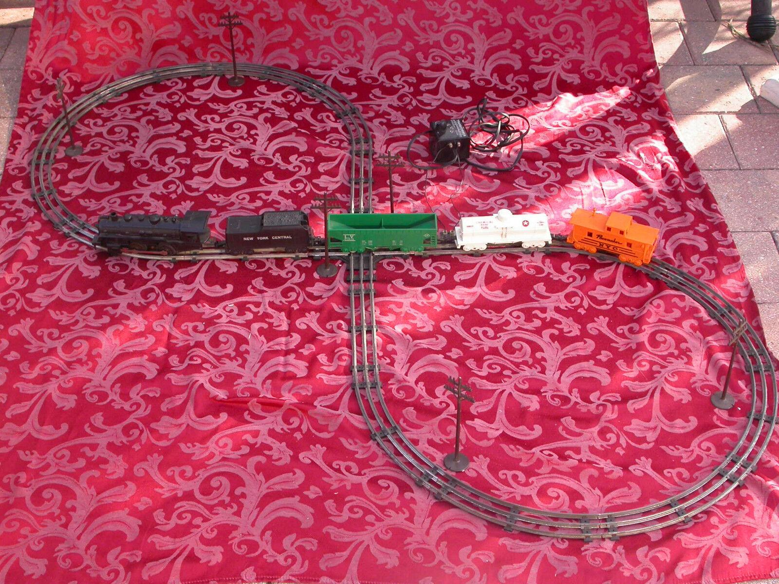 Vintage Usa Marx Juguetes Tren Eléctrico Set  Lote  j 773