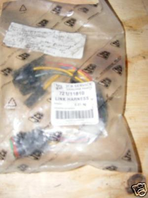 Heavy Equipment Heavy Equipment, Parts & Attachments Jcb Digger Link Harness Wiring Loom Part 721/11010