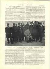 1897 torri del silenzio Bombay Benin City sacrificio funzionari Fotografia