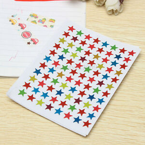 880pcs Star Shape Stickers Labels For Kids Teacher Reward Diy Craft Top Sell Ebay