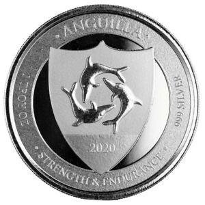 ANGUILLA-2-Dollars-Argent-1-Once-Blason-2020