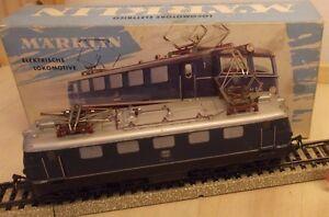 Marklin-H0-3034-Locomotive-electrique-Electric-e-41-bleu-Eprouve-in-off-03-1960