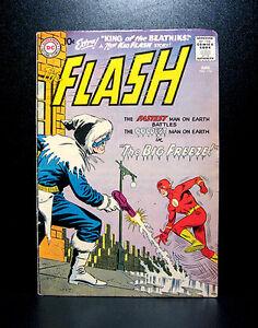 COMICS-DC-The-Flash-114-1960-2nd-Captain-Cold-app-RARE-justice-league