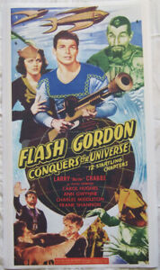 Flash-Gordon-Conquers-the-Universe-Poster-36-034-x-20-034-Large-Format-Facsimile