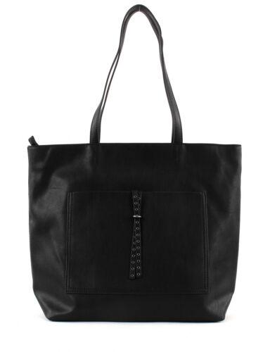 ESPRIT Odina Shopper Tasche Schultertasche Shopper Handtasche Black Schwarz Neu