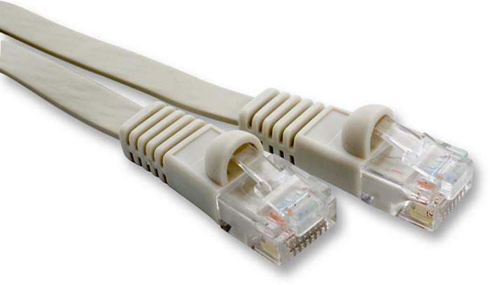 LEAD FLAT CAT6 UTP BEIGE 20M CABLE ASSEMBLIES NETWORK CABLES - CJ55745