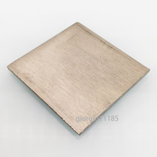 US Stock 4mm x 50mm x 50mm N6 99.6/% Pure Nickel Sheet Metal Plate