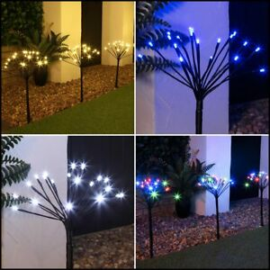 50cm-5-Pack-Outdoor-Sparkler-LED-Path-Stake-Lights-Christmas-Garden-Lawn-Drive