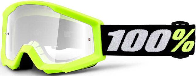 100/% Youth Strata Mini Goggle-Black MX Offroad