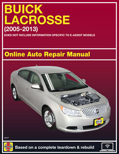 2008 buick lacrosse haynes online repair manual select access ebay rh ebay com 2012 buick regal repair manual 2014 buick regal repair manual