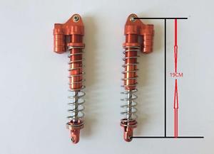 Aleación CNC choque frontal 8 mm Naranja Rojo para 1 5 Rc Hpi Baja RV King Motor 5B 5 T 5SC