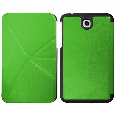 Borsa Custodia Book Case Smart Plus Per Samsung Galaxy Tab 3 7.0 P3200 Verde Aspetto Bello