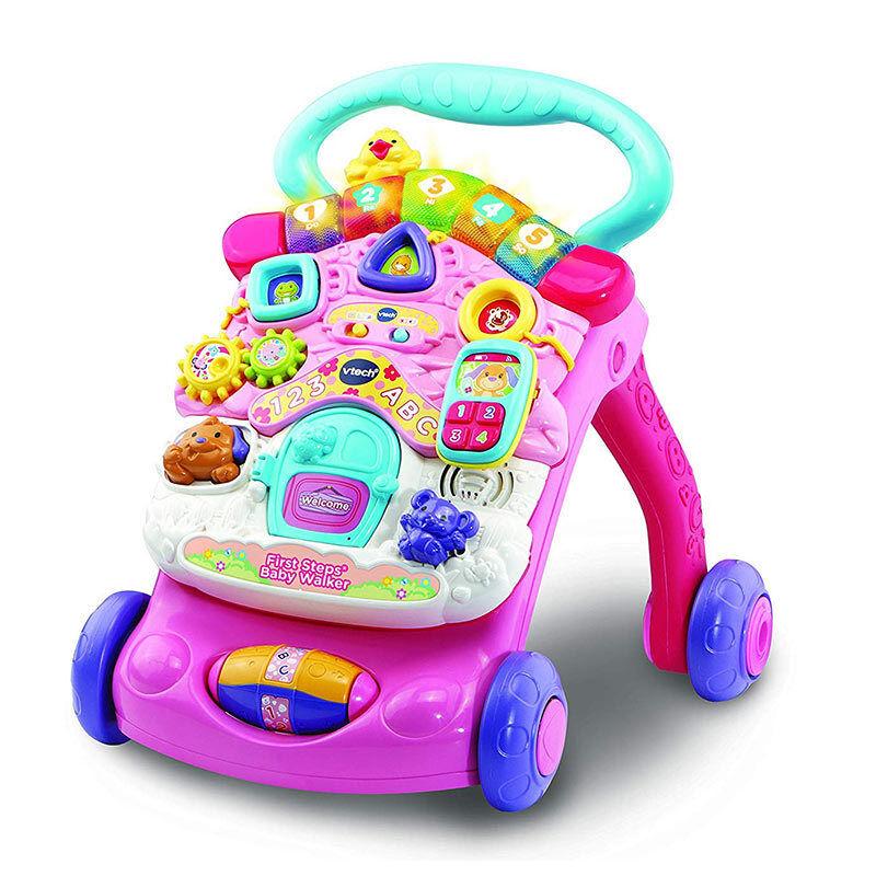 Vtech First Steps Baby Walker Pink 2018 505653