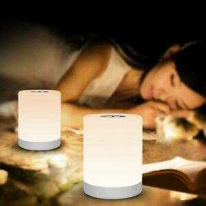 LED-Rechargeable-Warm-White-Night-Light-RGB-Nightlight-Bedside-Table-Touch-Lamps