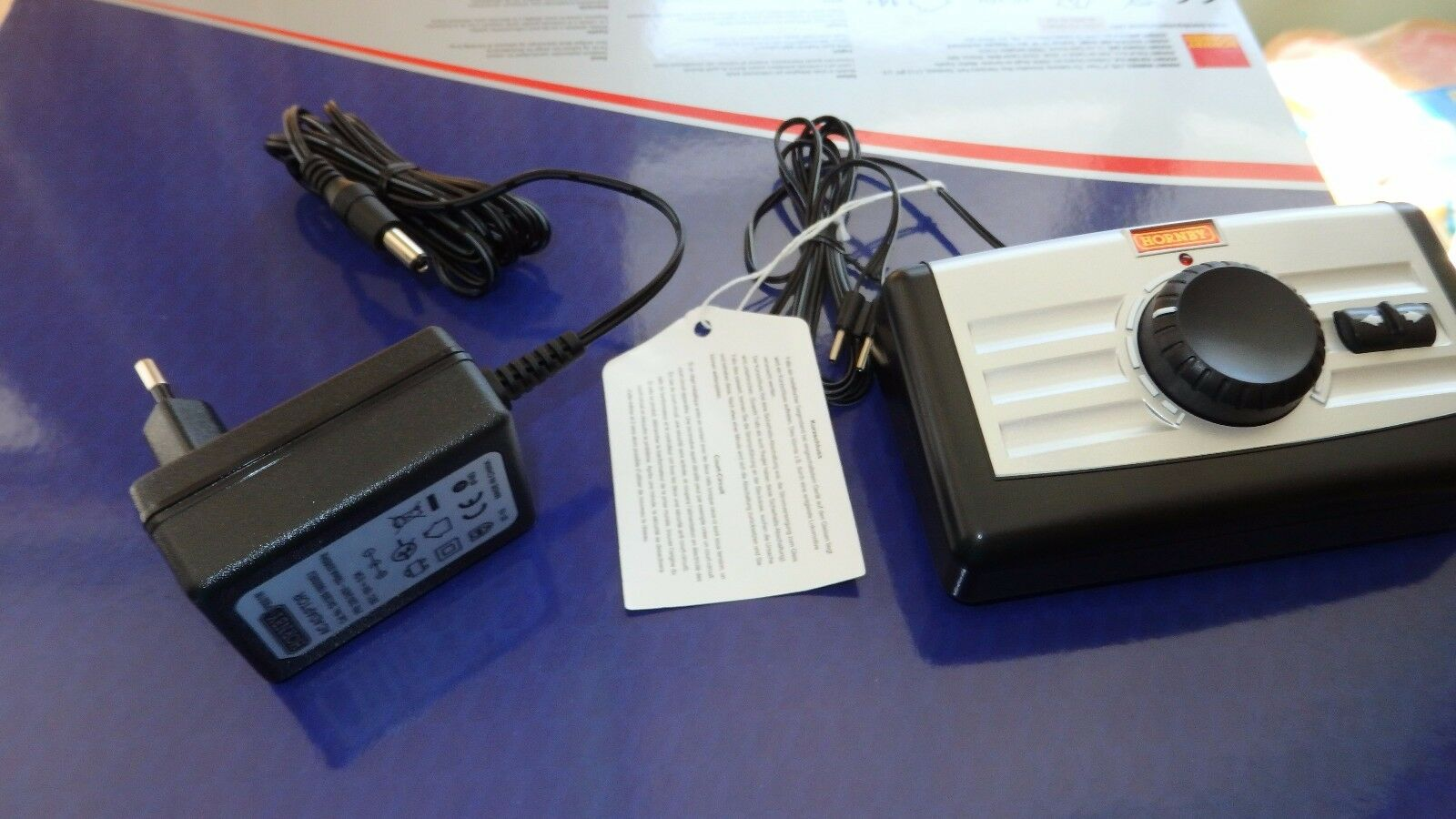 R8250 e RP9201 Hornby Lima Rivarossi trasformatore e regolatore velocita