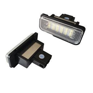 LED-SMD-SET-MERCEDES-Kennzeichenbeleuchtung-Kennzeichen-Leuchte-NEU