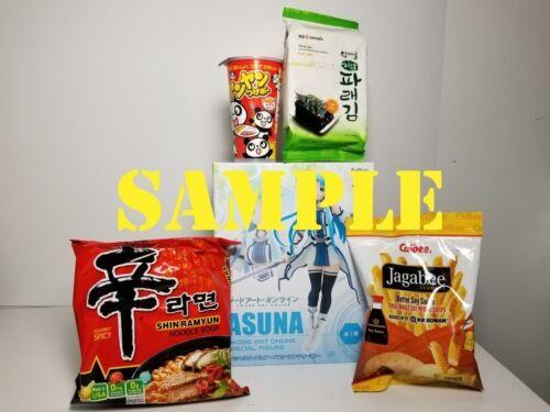 Anime Figure Ramen Snacks Surprise Box