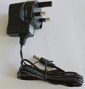 5V-Adaptor-AC-Uk-3-Pin-Mains-Plug-to-5-Volt-DC-5mm-Tip-Connector-Adapter-Black