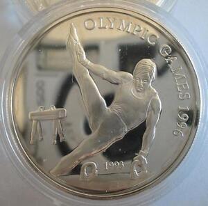 SAMOA-10-Tala-1993-Silver-Proof-1996-Olympics-Gymnast