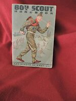 """1965 6th Ed seventh Printing BSA """"Boy Scout Handbook"""" Cover By Norman Rockwell"""