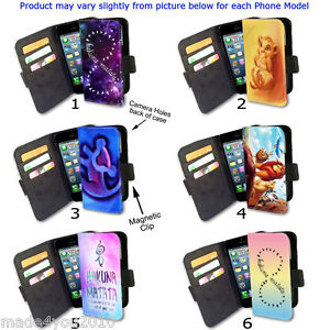 Hakuna-Matata-Lion-King-Inspired-Phone-cover-WALLET-Flip-Case