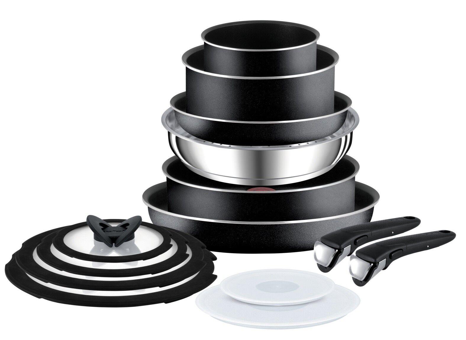 TEFAL Ingenio comportant essentielle non induction de 14 casseroles avec amovible Poignées