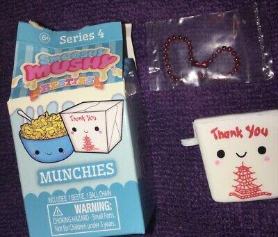 Smooshy Mushy Besties Series 4 Sweeties Snackies Munchies Milk Carton FREE SHIP!