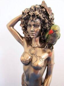 Oshun Statue Yoruba Orisha African Goddess of Beauty Love Nigerian #WU75957A4