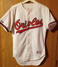 Vintage Late 1980's/Early 1990's Baltimore Orioles White Rawlings Jersey Size 40