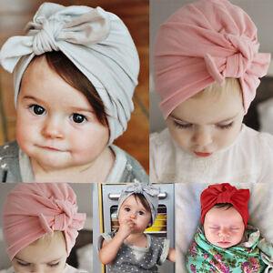 2017-Newborn-Baby-Kid-Boy-Girl-Infant-Bowknot-Hat-Toddler-Cotton-Beanie-Hat-Cap