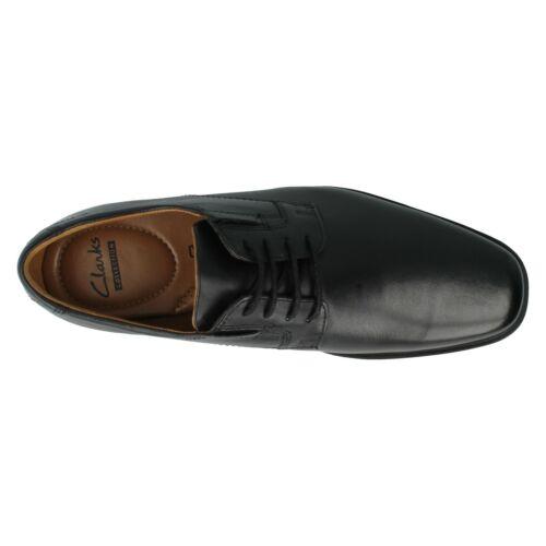 Cuero Cordones Trabajo Zapatos Clásico Derby Elegante Formal Hombre Clarks qHESpp