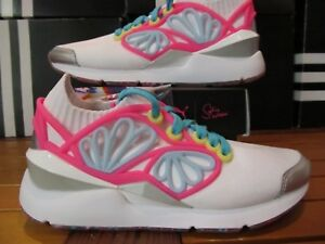 Details about Womens Puma Pearl Cage SOPHIA WEBSTER Pink Multicolor 364707 01 Limited Edition