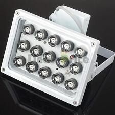 328Ft 15LED IR Illuminator Security Floodlight For Night Vision CCTV Camera USA