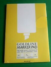 Clairefontaine Goldline Marker Pad-A4-70gsm