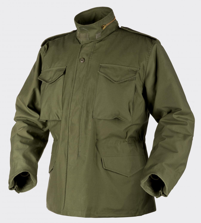 HELIKON tex us m65 chaqueta Army exterior Parka Jacket verde oliva Forraje Sr small regular