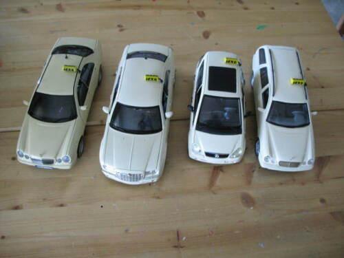 1:18 taxischilder de Resin sans peinture différentes variantes nouveau