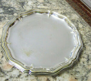 NEAT-ROUND-BAROQUE-OR-QUEEN-ANNE-STYLED-TRINKET-TRAY-CARD-RECEIVING-BALL-FOOTED