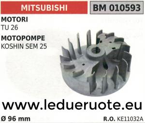KE11032A VOLANO magnete VENTOLA MOTORE MITSUBISHI TU 26 Ø 96mm